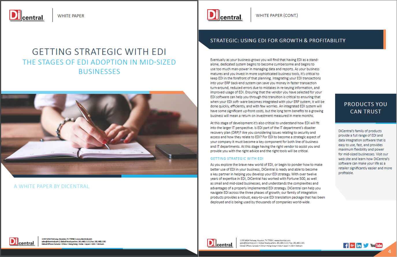 Getting Strategic with EDI: The Stages of EDI Adoption in Mid-sized Businesses